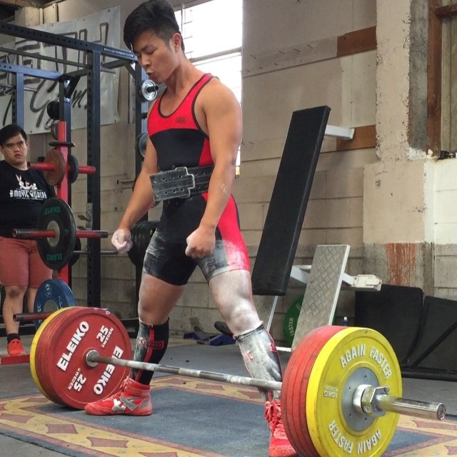 @destamoon with a whopping 255kg! 12kg above his national record