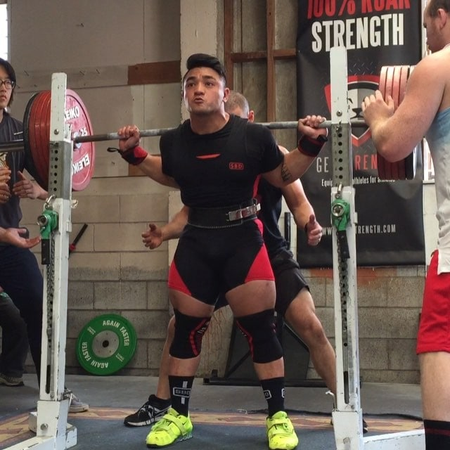 Biggest skwat of the weekend goes to @joshtukua with a HUGE 247.5kg!
