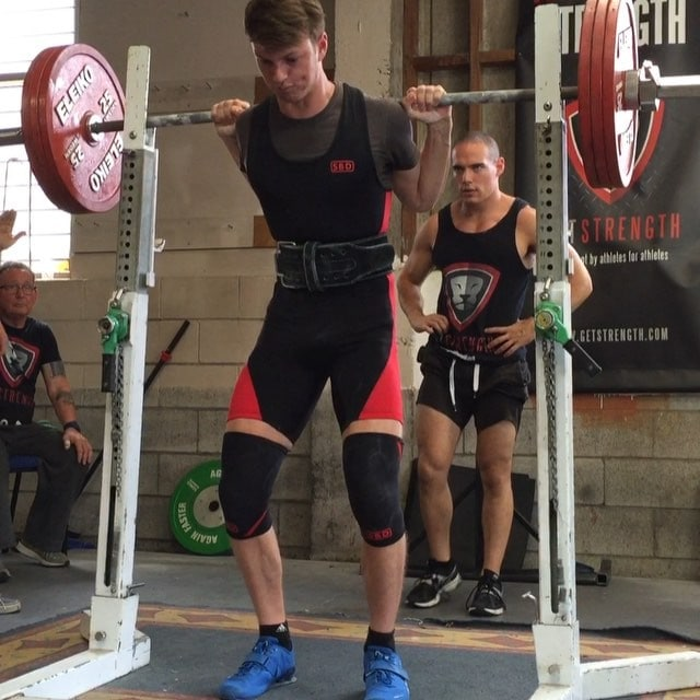 @sam_pettett new squat PR of 175kg!