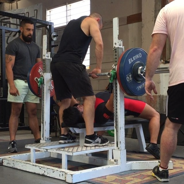 @destamoon with a big milestone of 120kg!