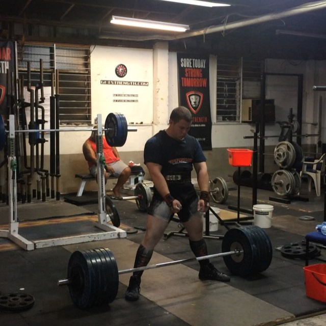 105kg prodigy @wrotthweiler power cleaning 272.5kg