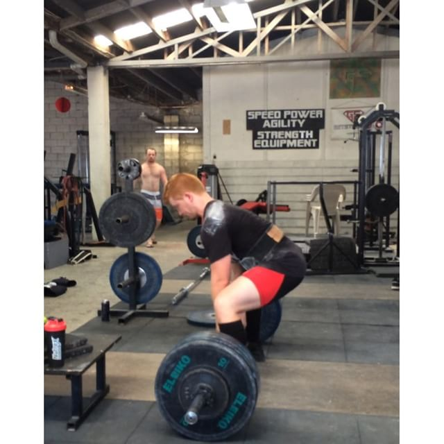 @edsheeranpowerlifter with a new sumo PR of 170x3. Now will his next single be a song or a lift? Stay tuned to find out!
