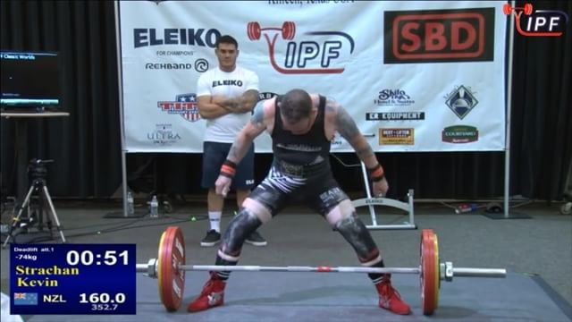 @kpstrachan opener deadlift of 160kg flies up with ease.