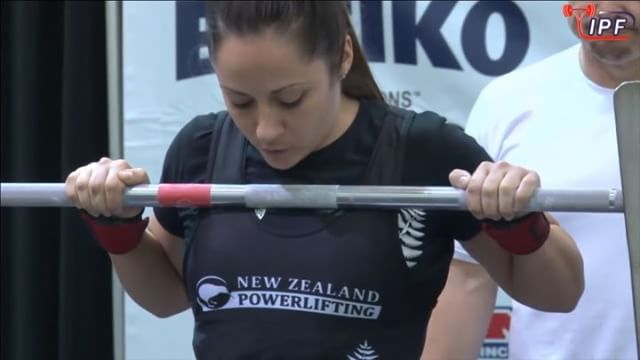 @carli_dillen narrowly misses her 3rd attempt of 150kg  Lyk dis if u cri everytim.