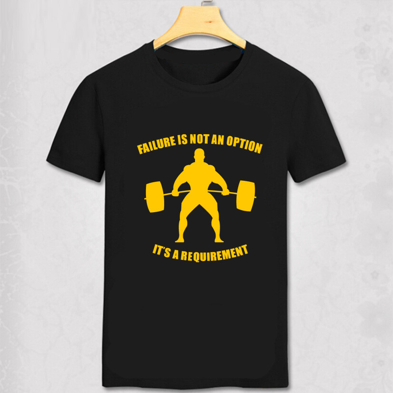 FAILURE IS NOT AN OPTION IT'S REQUIREMENT Mens T-Shirt