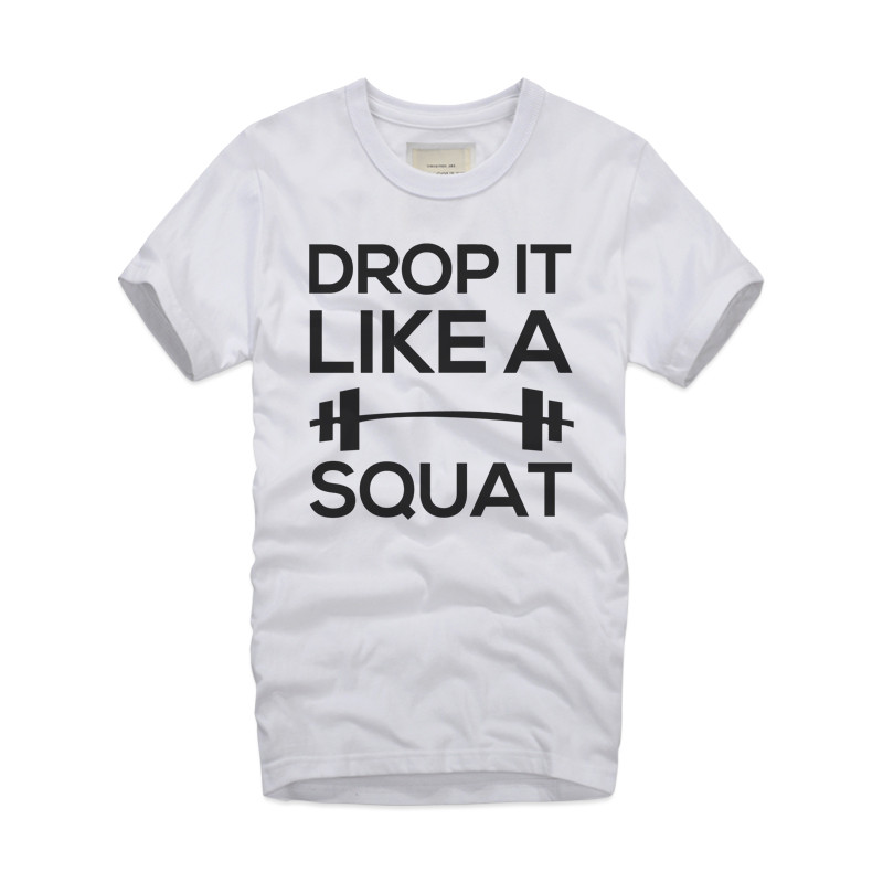 DROP IT LIKE A SQUAT Mens T-Shirt