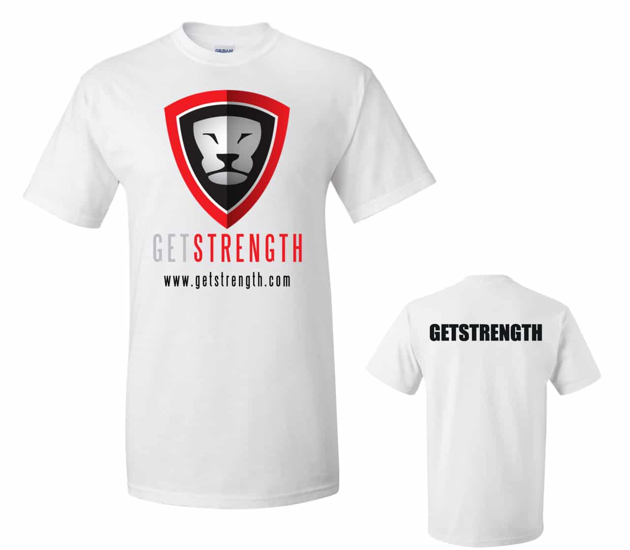 GETSTRENGTH Training T-Shirt Light (Mens)