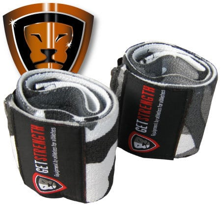 Urban Camo Heavy Wrist Wraps (pair)