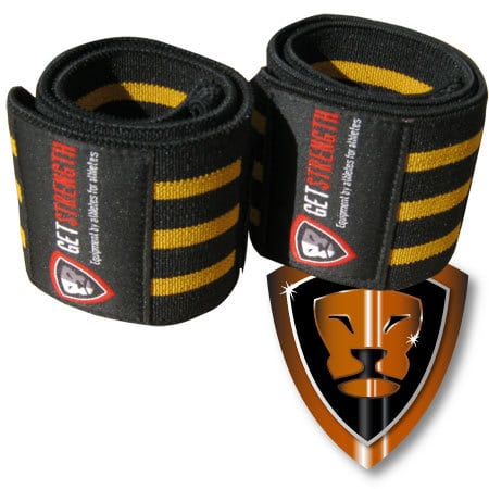 GS Super Heavy Wrist Wraps (pair)